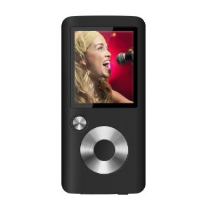 Coby 2GB Flash MP3 Player with FM and Color Display (Black)