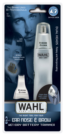Wahl 5545 506 nose trimmer dual heads