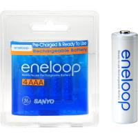 Eneloop sechr4utg4bp battery aaa4 4pack rechargeable nimh