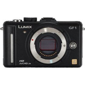 Panasonic Lumix DMC-GF1 12.1MP Micro Four-Thirds Interchangeable Lens Digital Camera (Black Body)