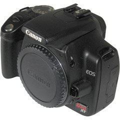 Canon Digital Rebel XTi 10.1MP Digital SLR Camera (Black Body Only)