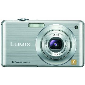 Panasonic Lumix DMC-FS15 12MP Digital Camera with 5x MEGA Optical Image Stabilized Zoom and 2.7 inch LCD (Silver)