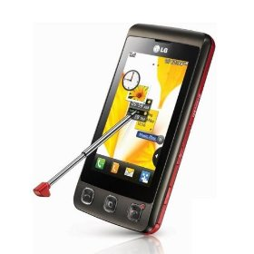 LG KP500 Cookie Unlocked Phone with 3.2 MP Camera (Brown)