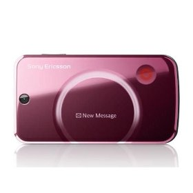 New Unlocked Sony Ericsson QuadBand Cellular Phone T707 - 3.15 MP Camera, FM Radio - International Version with No Warranty (Pink)