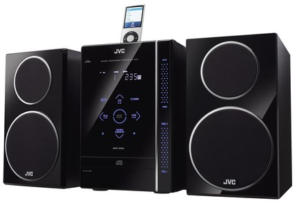 Jvc uxgn6 micro system 120w ipod dock laser touch usb host