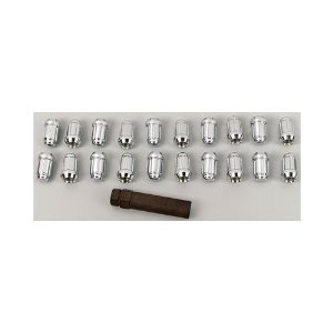 Gorilla Automotive 21183HT Small Diameter Acorn Chrome 5 Lug Kit (1/2