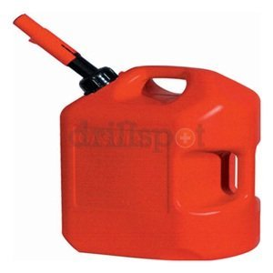 Midwest Can #6600 6GAL RED Plastic Gas Can