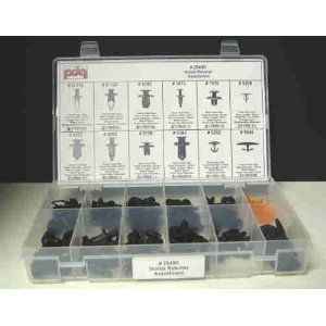 Honda Retainer Assortment-All the popular Honda clips (121 Pieces)