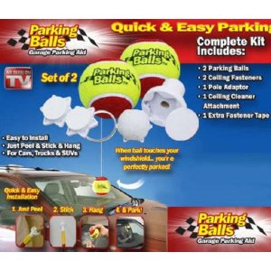 Parking Balls Garage Parking Aids (Set of 2)
