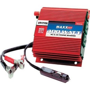 Vector VEC 024B 400-Watt D/C to A/C Power Inverter with Power Level Meter
