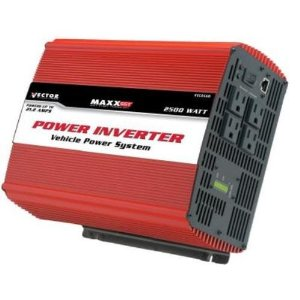 Vector VEC056D 2,500 Watt D/C To A/C Power Inverter With Power Level Meter