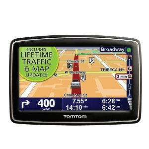 TomTom XL 340TM (Lifetime Traffic & Maps Edition) 4.3-Inch Portable GPS Navigator