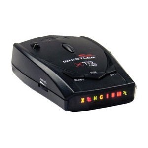 Whistler XTR-130 Laser/Radar Detector with High Gains Lens