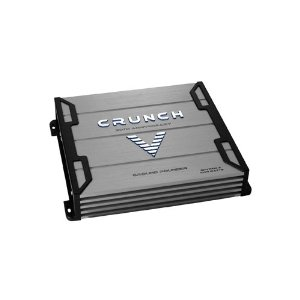 Crunch Ground Pounder GPV1000.2 1000 Maxx Watt Power A/B Class Two Channel Amplifier (Silver)