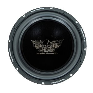 Power Acoustik PEN-12W ? 4 Ohm 12? Subwoofer ? 800 Watts MAX ? Butyl-Rubber Surround ? 40oz Magnet w/ Vented Back Plate