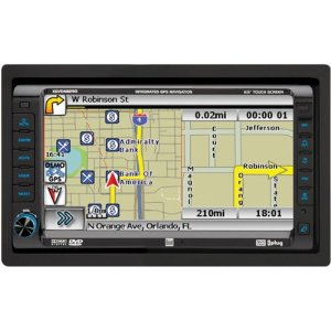 Dual XDVDN8290N AM/FM/DVD Receiver with 7-Inch Motorized, Touch, Full iPod, Full Bluetooth Interface (Black)