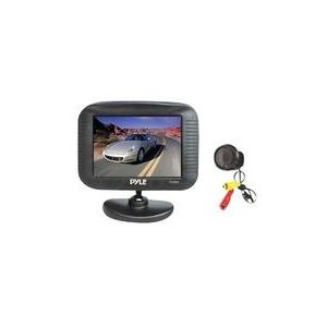 Pyle PLCM35 3.5'' TFT LCD Monitor/Night Vision Rear View Camera