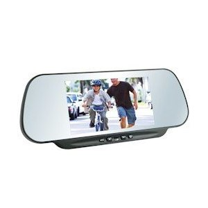 Boyo VTM600M Rear View Mirror with 6-Inch LCD