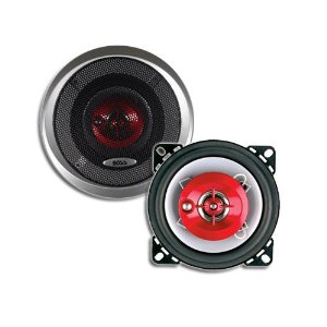 BOSS CH1442 3-Way 4-Ohm 4-Inch Poly Injection Cone Speaker