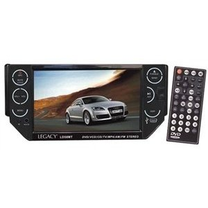 Legacy LD58MT 5.5-Inch TFT Touch Screen Motorized Panel DVD/VCD/CD/MP3/CDR/USB/SD Card/AM/FM with Razor Soft Touch Buttons