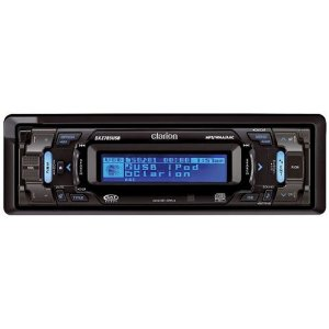 Clarion DXZ785USB CD/MP3/WMA/ACC Receiver with CeNET Control, Time Alignment, 3-Way Crossover, Rear USB Port, Satellite Radio Ready