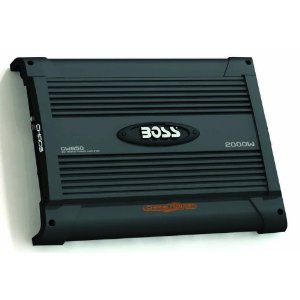 BOSS CW950 CHAOS WIRED 2000 Watts 2-Channel Mosfet Power Amplifier with Subwoofer Level Control