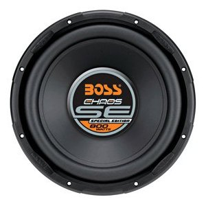 BOSS SE12S 4-Ohm 12-Inch Black Poly-Coated Paper Cone Voice Coil Subwoofer