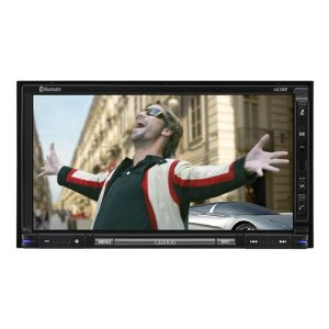 Clarion VX709 7-Inch Double-DIN Multimedia Station with Touch-Panel Control and USB Port