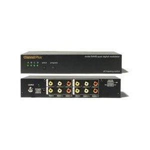 CHANNEL PLUS 5545 Quad Channel A/V Modulator with I/R Output (CHANNEL PLUS 5545)