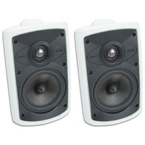 Niles OS5.5 White (Pr) 5 Inch 2-Way High Performance Indoor Outdoor Speakers (FG00992)
