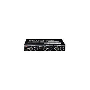 Legacy LXR3A Half Din Dash 6 Channel Electronic Crossover Network