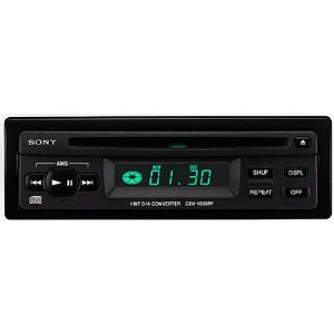 Sony In-Dash CD Player Only (CDX-1000RF)