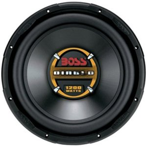 Boss Audio D105DVC 10-Inch Dual 4-Ohm Diablo Voice Coil Subwoofer - Single (Black)