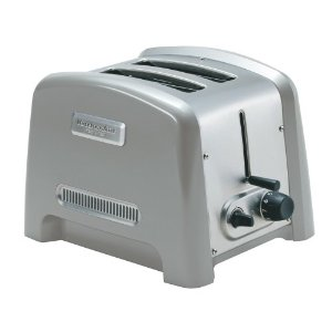 KitchenAid KPTT780NP Pro Line 2-Slice Toaster, Nickel Pearl