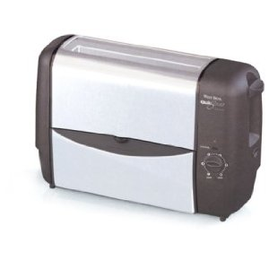 West Bend 78222 Quik-Serve�Toaster, Stainless Steel