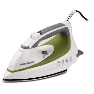 Black & Decker F1060 Steam Advantage Iron with Stainless-Steel Soleplate