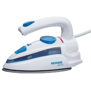 Severin Travel Iron Dual Voltage (110/220 Volt) Steam Spray