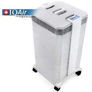IQAir HealthPro Plus HEPA Air Purifier - HyperHepa Filtration - Air Cleaner with with Gas and Odor Filter