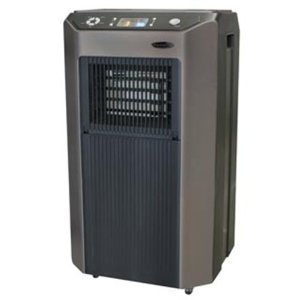 Soleus Air PA1-12R-32, 12,000 BTU Evaporative Portable Air Conditioner, HEPA Air Purifier, 12,000 BTU Heater, Humidifier and Fan, Black