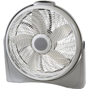 Lasko 3540 Cyclone 20-Inch Pivoting Floor Fan with Remote Control