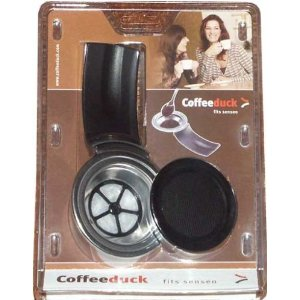 Coffeeduck, the permanent & refillable coffee filter the Senseo (only works with Senseo models starting with HD781))