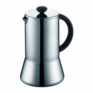 Bodum Presso Doublewall Stainless Steel Thermal 8 Cup Coffee Press, 34-Ounce