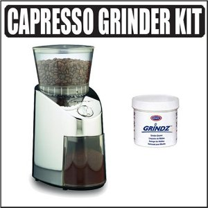 Capresso 56505 Infinity Stainless Steel Conical Burr Grinder