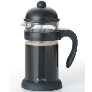 Meyer French Cafe 8-Cup Unbreakable French Coffee Press, Black