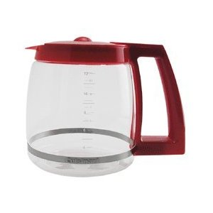 Cuisinart DGB-500RRC Coffeemaker/Urn 12 Cup Carafe, Red
