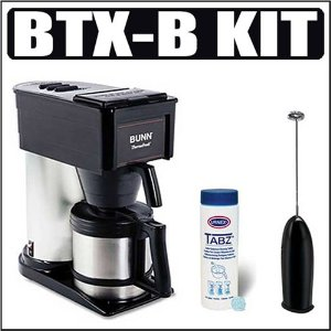 BUNN BTX-B ThermoFresh 10-Cup Thermal-Carafe Home Coffee Brewer Accessory Kit