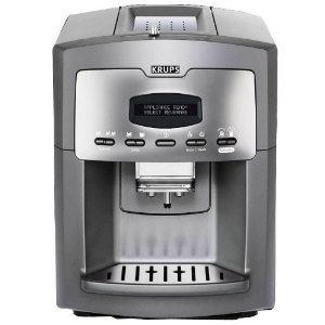 Krups XP9000 Super-Automatic Espresso Machine and Coffee Center, Charcoal