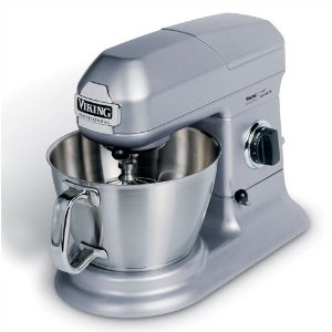 Viking Range Stainless/Gray Stand Mixer 5 Qt.