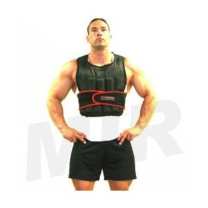 MiR 20Lbs Exercise Adjustable Weighted Vest
