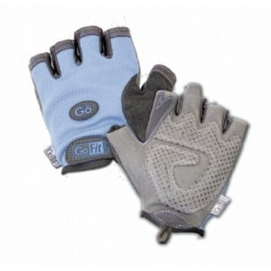 GoFit Women's Pearl Tac Weightlifting Glove with Training CD